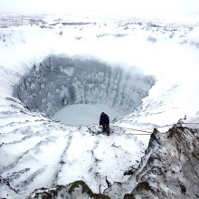Huge Mysterious Crater, Siberia
