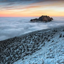 Mountain Above Clouds, Slovakia