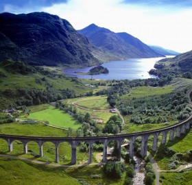 19-Century Highland Railway, Scotland