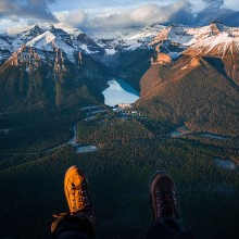A Best View On Lake Louise, Canada
