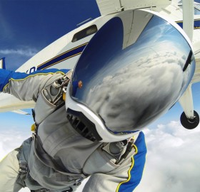 Awesome Skydive Selfie