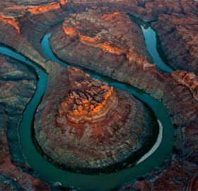 Colorado River Loop In Canyonlands, Utah