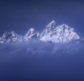 """""""Floating Mountain"""", Teton Range, Wyoming"""