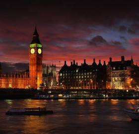 London Glowing At Twilight