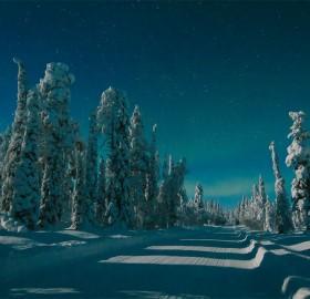 Road To Muonio, Finland
