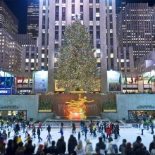 Skating At Rockefeller Center, New York