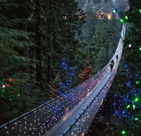 Suspension Bridge in Vancouver, Canada