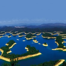 Thousand Islands Lake, China