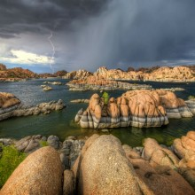 Thunder Over Watson Lake, Arizona
