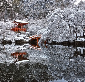 Winter In Kyoto, Japan