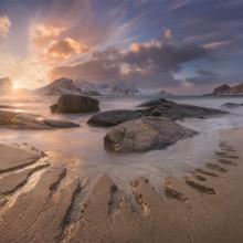 Arctic Beach, Norway