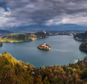 Bled Island Church, Slovenia