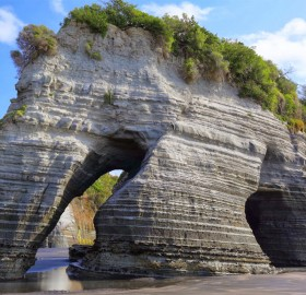 Elephant Rock, New Zealand