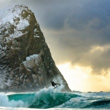 Surfing In Norway Looks Amazing