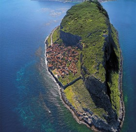 The Hidden Town of Monemvasia, Greece
