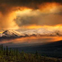 Amazing Teklanika River Valley, Denali National Park