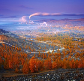 Autumn In Karabash, Russia