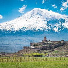 Monastery At Mount Ararat, Armenia