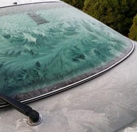 Windshield Frost Art