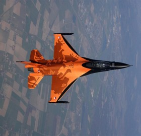 Awesome Dutch F-16 Fighter