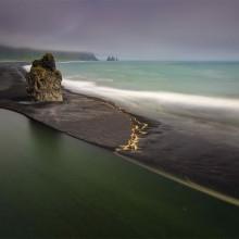 Black Sand Of Iceland