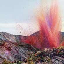 Flower Petal Explosion Near The Irazú Volcano, Costa Rica