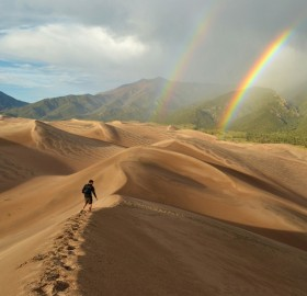 Hiking Through Great Sand Dunes National Park, Colorado
