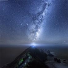 Milky Way Over Wanaka, New Zealand
