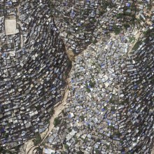 Slums Of Haiti From Above