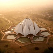 The Lotus Temple, India