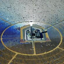 The World's Largest Solar Plant, Mojave Desert