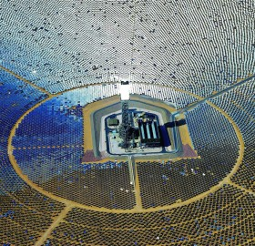 The World's Largest Solar Plant, Mojave Desert