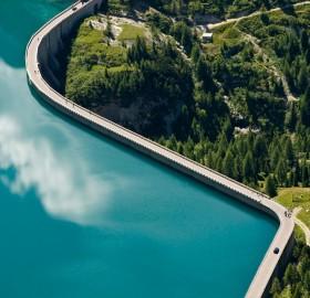 Water Dam in Trentino, Italy