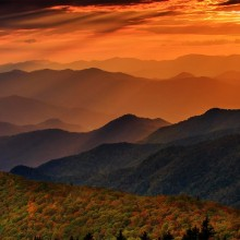 Cowee Mountain Overlook, North Carolina
