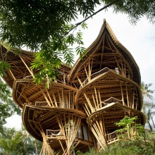 Sustainable Bamboo Home, Bali