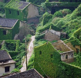 Abandoned Fishing Village In Gouqi Island, China