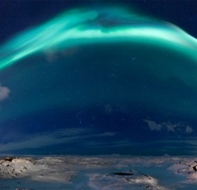 Powerful Solar Storm Sparks Stunning Northern Lights