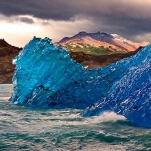 Upside Down Iceberg