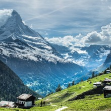 A View On Matterhorn, Switzerland
