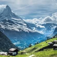 A View On Matterhorn, Switzerland