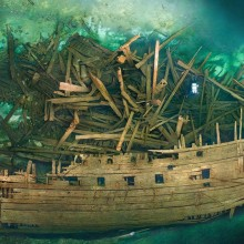 500 Years Old Wreck Of Swedish Warship Mars