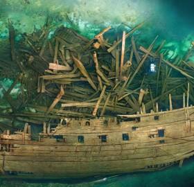 500 Years Old Wreck Of Swedish Warship Mars