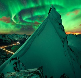 Spectacular Auroral Display, Northern Norway