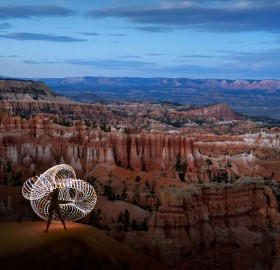 Playing With Light At Bryce Canyon