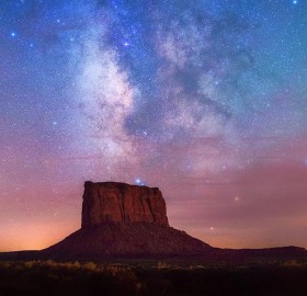 Stars Over Monument Valley