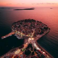 Sunset at Primosten, Croatia