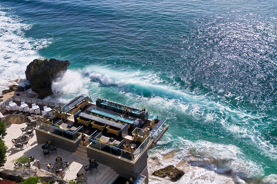resort with a view, bali
