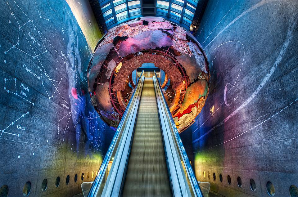cool london subway station