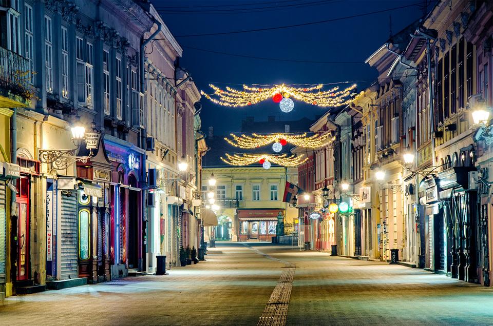 danube street, novi sad, serbia