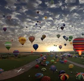 Balloon Gathering